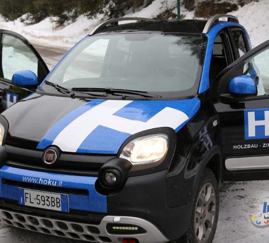 Fahrzeugbeschriftung Fiat Panda Cross